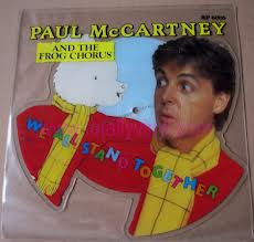 We love Paul McCartney - even if his best known piece of choir music is for a frog chorus!